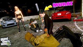 MURAT CANSU'YU BIÇAKLI TİNERCİLERDEN KURTARIYOR! - GTA 5 MURAT'IN HAYATI