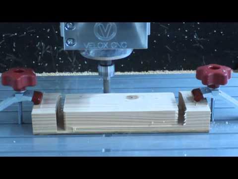 Velox CNC router 36x36 machine cutting wood 1.3