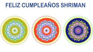 Shriman   Indian Designs - Happy Birthday
