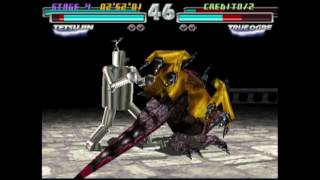 Tekken Tag 1 ( Arcade ) - Tetsujin / Jin Playthrough ( July 18, 2017 )