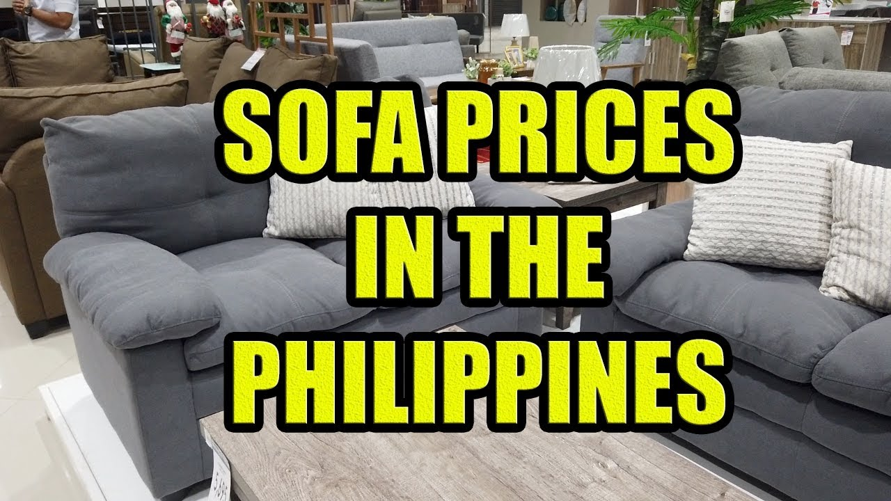 sofa prices in the philippines