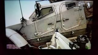 GPD Win ARMA 3 squad fight, driving through city