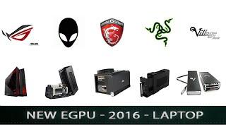 eGPU 2016 | Razer Core, Asus XG2, MSI GS30, Alienware, Vidock...