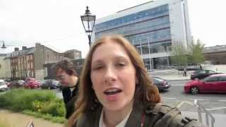 Ireland Vlog Day 6! Waterford Crystal, Stealth Filming, and Water Fight Part Deux - August 25, 2012 Thumbnail