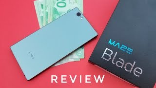 Beauty or the Beast? Maze Blade Smartphone REVIEW