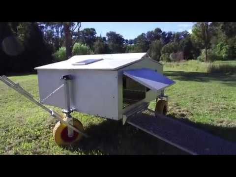 Automated Chicken Coop For 30 Hens