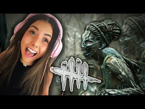 FIRST TIME PLAYING HORROR GAME I Andrea Tries Dead By Daylight