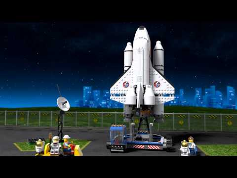 Lego City | Space | 60080 | Spaceport | Lego 3D Review