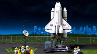 Lego City   Space   60080   Spaceport   Lego 3D Review