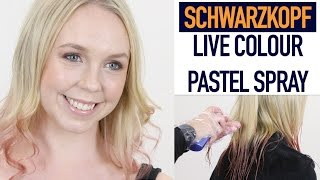 Schwarzkopf Live Colour Pastel Spray | Beauty | Health & Beauty Circle
