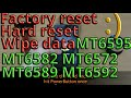 How to *Factory reset* wipe data all China phones and clones MT6582 MT6572 MT6589 MT6592