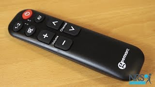 TV5 Big Button Remote Control Review