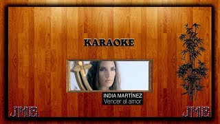 Karaoke India Martinez Vencer al amor