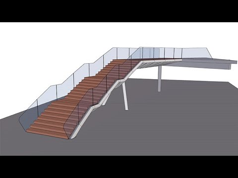 Tekla BIM Awards France 2020 : BRAULT - Escalier RCM