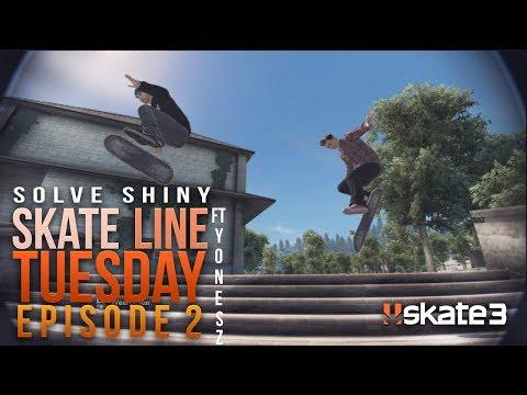 Shiny: Skate Line Tuesday Episode 2 (w/ Yonesz)