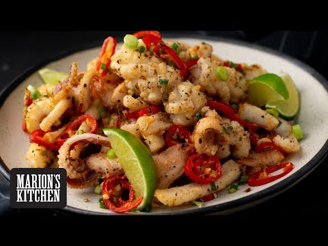 Ultimate Chinese Salt & Pepper Squid