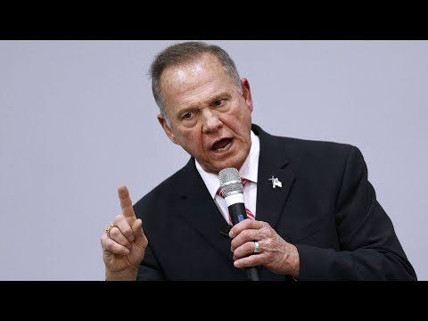 Roy Moore campaign holds news conference in Alabama