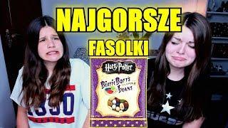 ZJADŁAM DŻDŻOWNICE ?!?! Fasolki Wszystkich Smaków - Harry Potter Beans