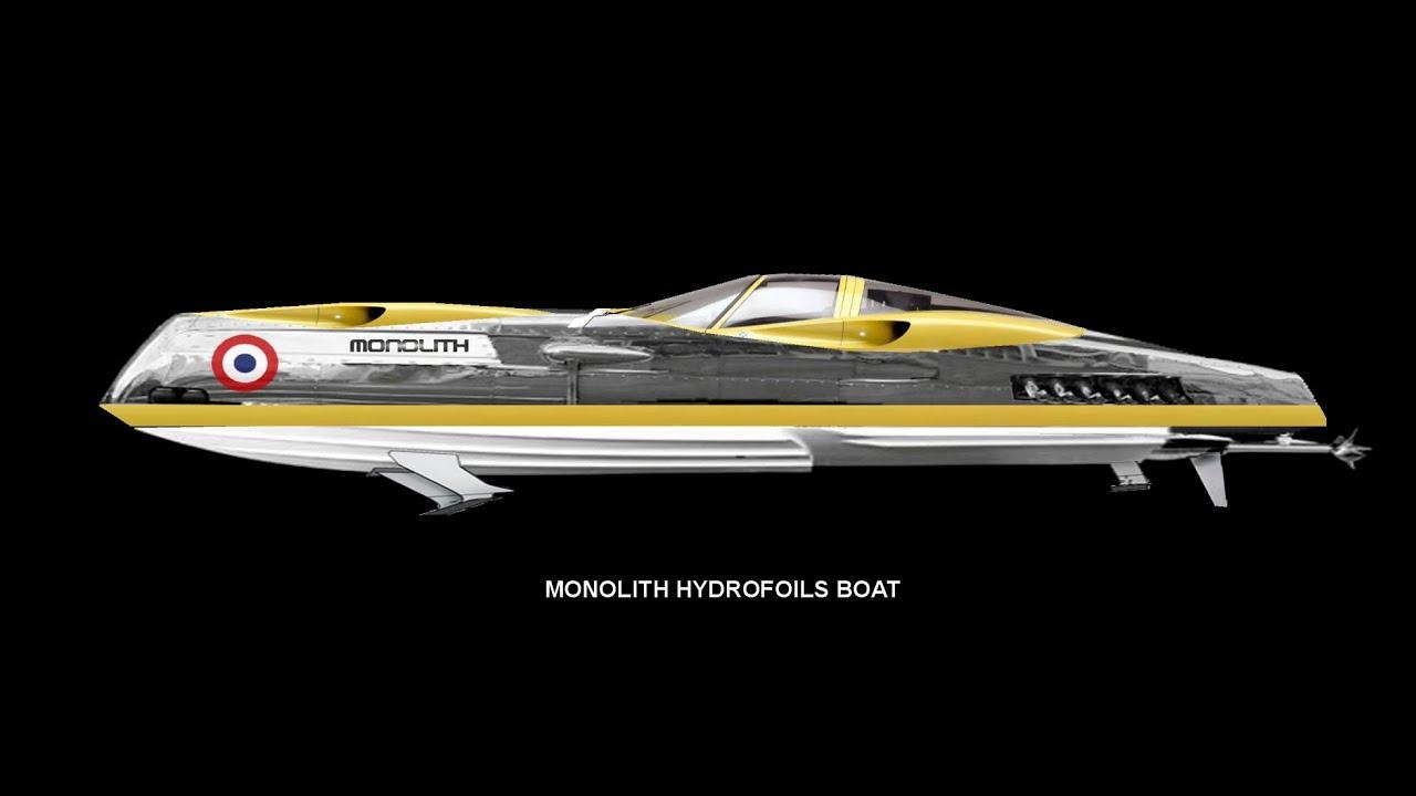 yacht desing,boat concept,boat design,monolith boat,superboat,powerboat,outerlimit boat, - YouTube