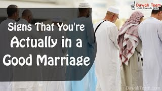 Signs That You're Actually in a Good Marriage ᴴᴰ ┇ Mufti Menk ┇Dawah Team