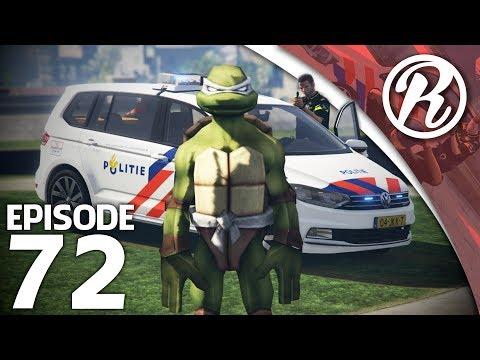 [GTA5] NEDERLANDSE POLITIE VS NINJA TURTLE!! - Royalistiq | Politie en boefje #72