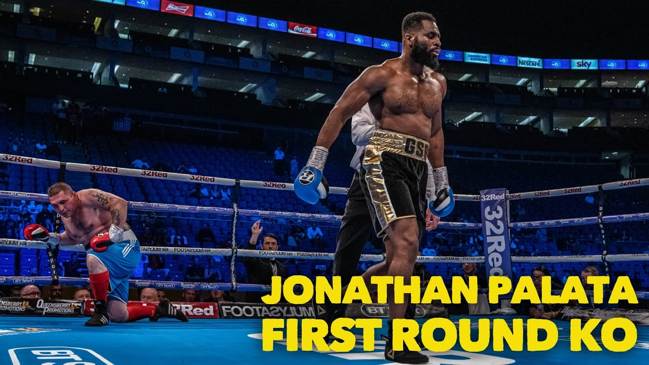 Download UNBEATEN HEAVYWEIGHT JONATHAN PALATA KNOCKS OUT ZSALEK IN ONE ROUND AT THE O2 ARENA (No Audio)
