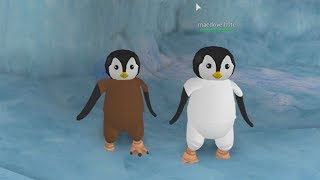 ROBLOX: MY MOTHER AND I TURN PENGUINS AND WALK THE SOUTH POLE! (Penguin Simulator)
