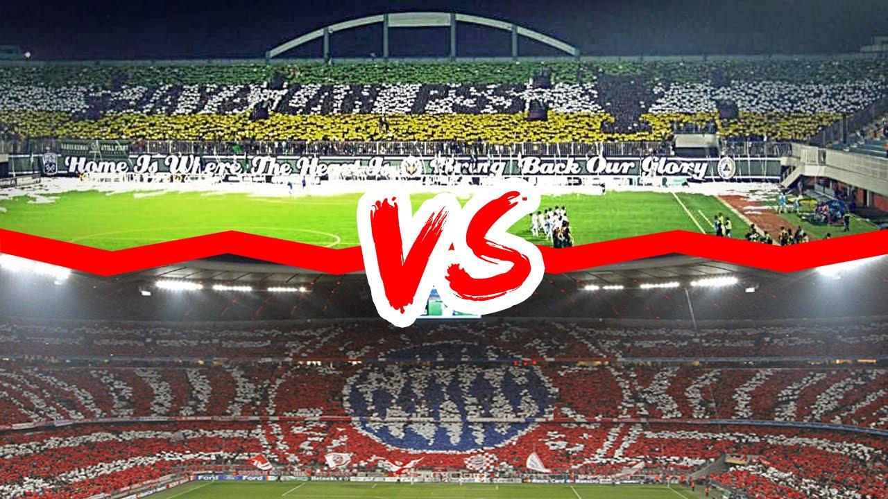 Koreografi Suporter Sepak Bola Indonesia Vs Eropa Mana Yang Terbaik Hd Youtube