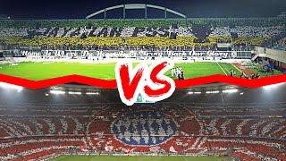 Download Video Koreografi Suporter Sepak Bola Indonesia VS Eropa ● Mana Yang Terbaik ? ● HD MP3 3GP MP4
