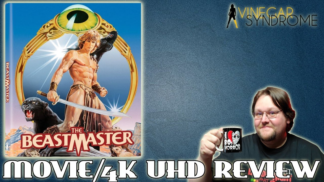 Download THE BEASTMASTER (1982) - Movie/4K UHD Review (Vinegar Syndrome)