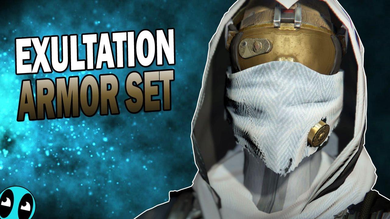 Destiny | Exultation Complete Armor Set (Hunter Armor Set)