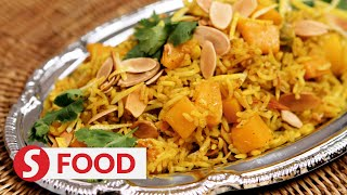 Retro Recipe: Pumpkin biryani