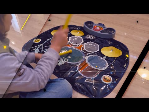 Kids musical play mat - Drums