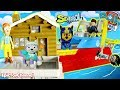 PAW PATROL Nickelodeon Mission Paw Rescue Pups Transform Sea Patrol with Rubble Mountain Rescue Toys