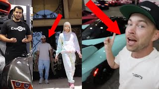 LOOK WHAT We SPOTTED in Stradman's Jeffree Star VID?! Tavarish BUYING REAL BUGATTI!?