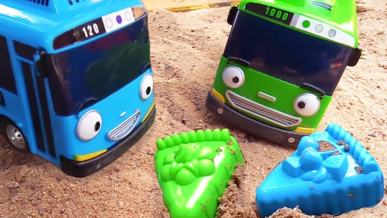 Игрушки из мультфильма Тайо маленький автобус. Видео для ...