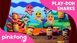 The Play-Doh Show Presents: Pinkfong! Baby Shark Doh-Doh Dance | Official Stop Motion