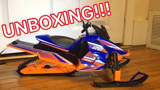 RC SNOWMOBILE| UNBOXING!!!!!(3rd RC SNOWMOBILE)