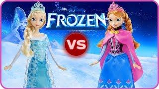 Frozen en español - Elsa Vs Anna - Pelea de hermanas - parte 1