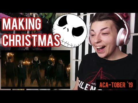 "REACTION | PENTATONIX ""MAKING CHRISTMAS"""