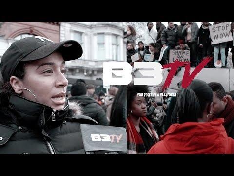 National Anti-Slavery March London - B3TALKS @b3tvchannel