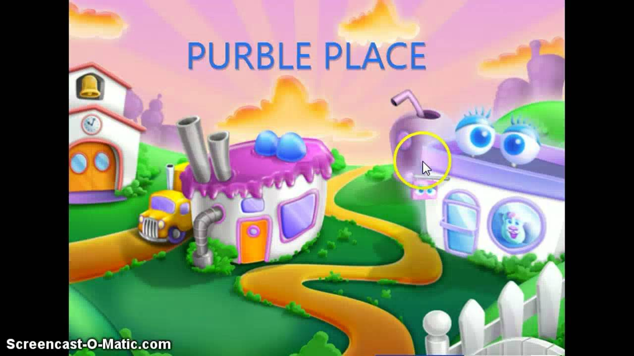 Purble Place Cake Game Online