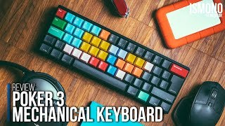 Best Editing Keyboard. Poker 3 Mechanical Keyboard REVIEW