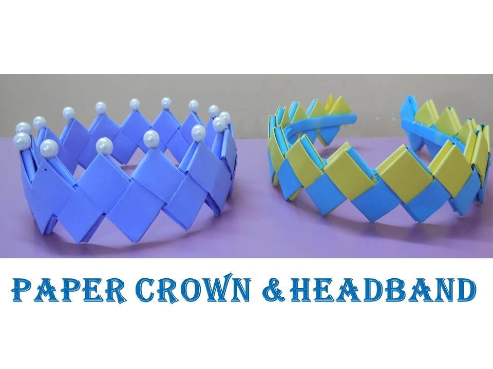 DIYHow to make Crown and Headband from paperYouTube