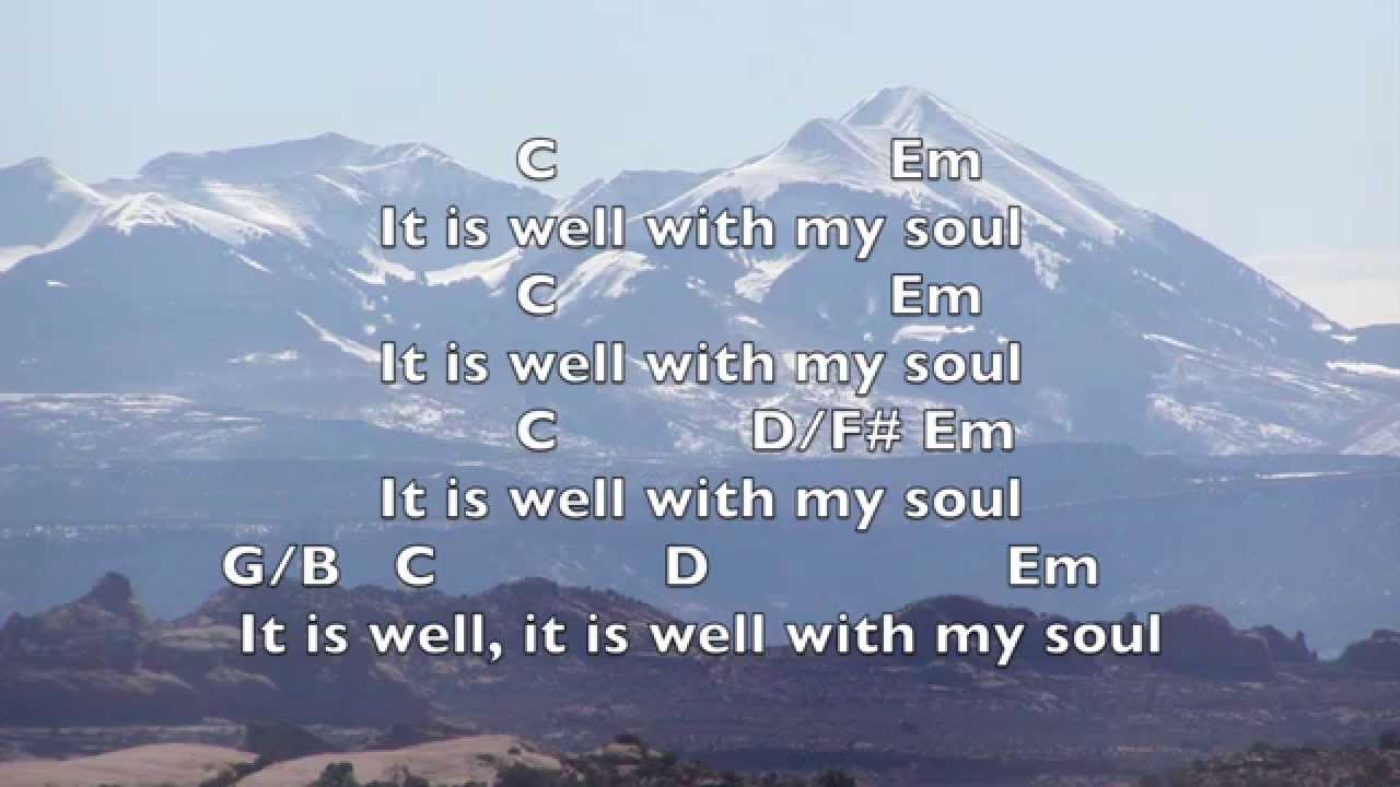 It is well key g lyrics chords youtube hexwebz Images