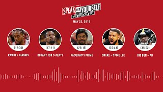 SPEAK FOR YOURSELF Audio Podcast (5.22.19) with Marcellus Wiley, Jason Whitlock | SPEAK FOR YOURSELF