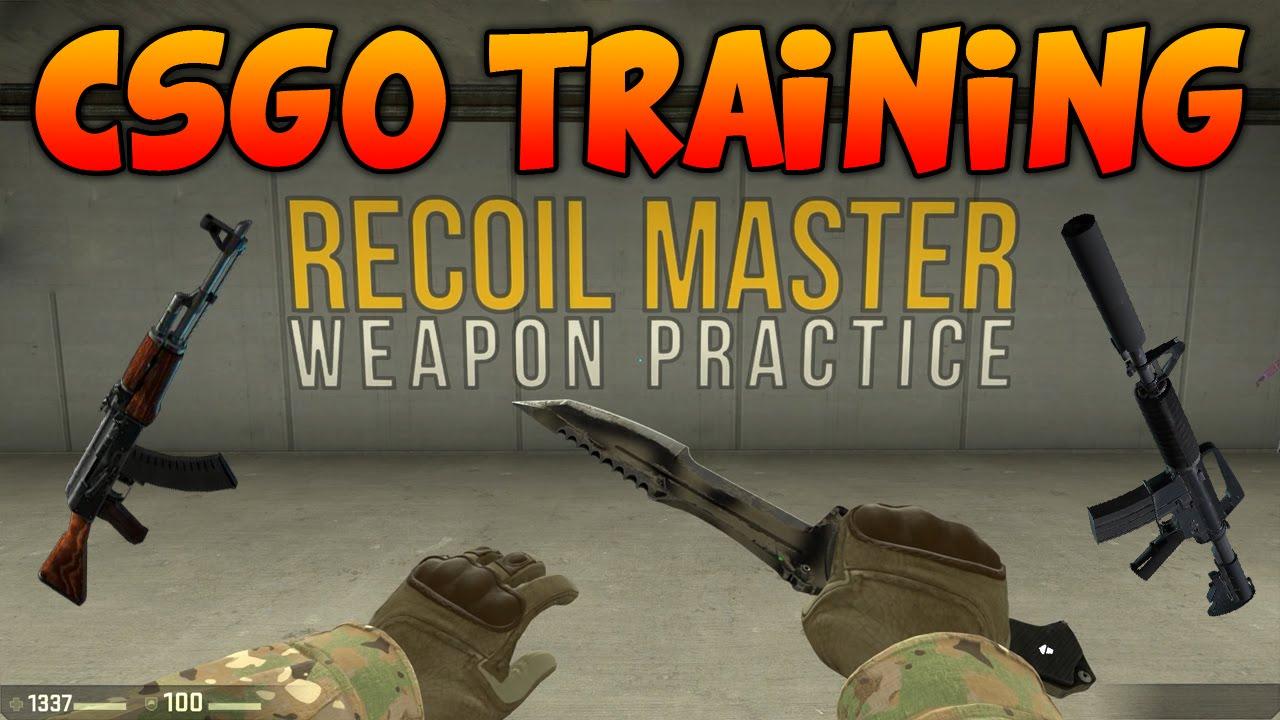 CSGO Spray Training - Recoil Master Map