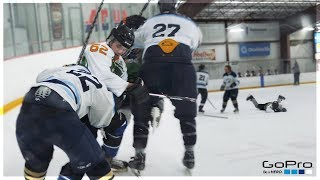 GoPro Hockey | I GOT KNOCKED OUT?! *DIRTY HIT*