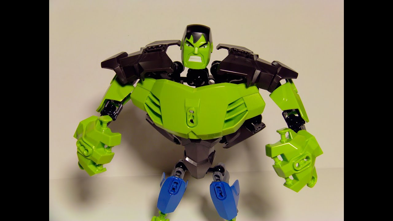 LEGO MARVEL SUPER HEROES THE HULK 39pc ACTION FIGURE TOY ...