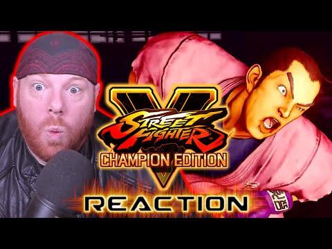 Krimson KB Reacts: Dan Gameplay Trailer - Street Fighter V Champion Edition  